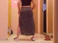 Booty shake heavy chick