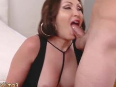 Milf rides big cock Auntie To The Rescue