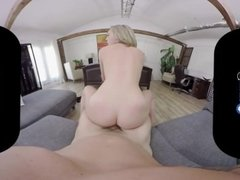 BaDoinkVR Vaginal Manipulation By Natural Titted Lily LaBeau POV