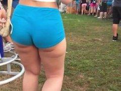 Festival ass slomo