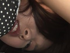 Sayuri getting a cock suck chow down and get fucked