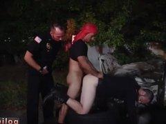 Black cops get jerk off gay first time