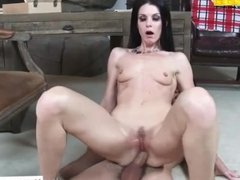 India Summer small ass mom in sweat pants