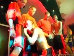Violent gay group sex movie The Orange Orgy
