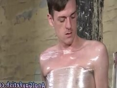 Cum male bondage gay first time Horny dude