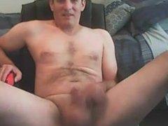 exposed and masturbating