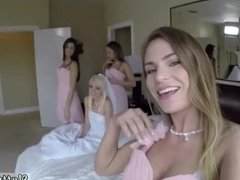 Sperm party gangbang Bridesmaids