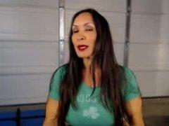 Denise On Webcam 2-14-2015