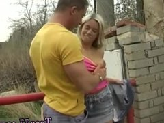 Squirt and cum orgy xxx blonde teen outdoor