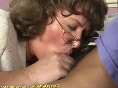 busty mom in stockings enjoys a strong dick