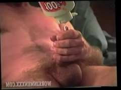 Homemade Video of Mature Amateur Jeb Jerking Off