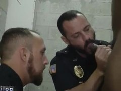Teenage boy spanked by cop and gay sex cops