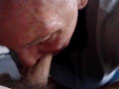 Grandpa blowjob series -13