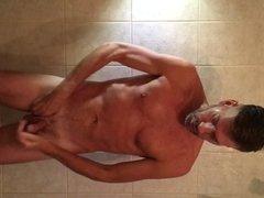 Shower wank part 2