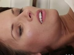 DogHouse Euro MILF Fucked in Her Gape on the Floor