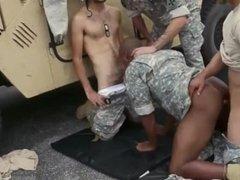 Navy men breeding ass full of cum gay