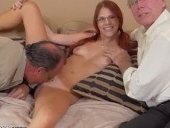 Big tit blonde fucked hard and massage