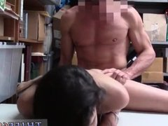 Teen takes huge black cock hot bondage