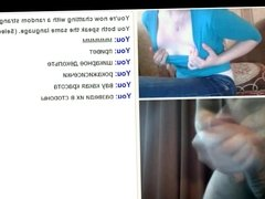 Webchat #20 Webcam hot girls flashing tits and my dick