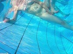 Nudist Couples Underwater Pool Hidden Spy cam Voyeur HD 2
