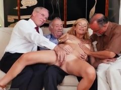 Daddy bareback hot old man fuck young girl
