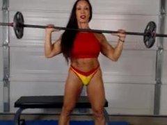 Denise On Webcam 10-24-2014
