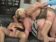 Mature Group Fuck Party 3