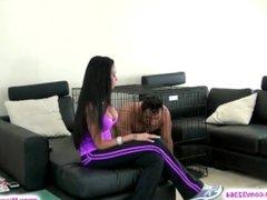 bdsm - mistress and her slave