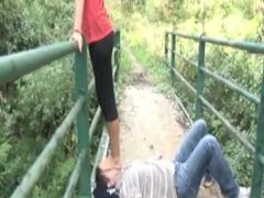 trample and deep feet