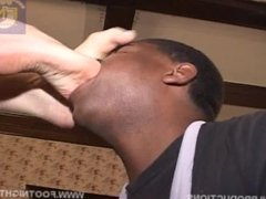 Lena Ramon's White Feet Drive Black Slave CRAZY - INTENSE WORSHiP
