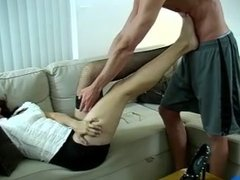 Foot Massage leads to footjob