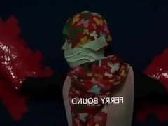 hijab tape gagged