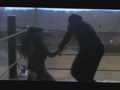Wrestling: Pro Mixed Wrestling girl vs. masked grappler