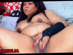 Big botty latina BRUNETTE squirting phat pussy ALIVEGIRL