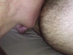 MILF eating black cock and Ass
