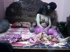 Indian married Couple on webcam live sex- For Live sex visit hotcamgirls.in
