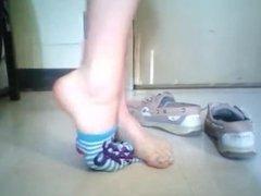 Dancing in socks