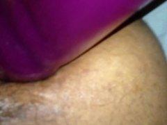 Mature Latina Wife Giant Dildo 3