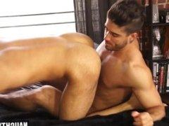 Latin gay anal and cumshot