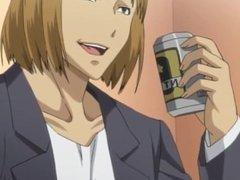Pregnant Hentai Ecchi Gives Titjob Surprise Cumshot Uncensored