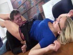 Scissoring the boss