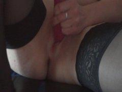 Dangerously hot masturbation!