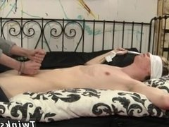 Carter's emo gay porn small rubbing his hard-on and kittling