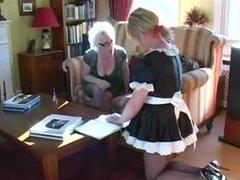 Femdom Sissy Table