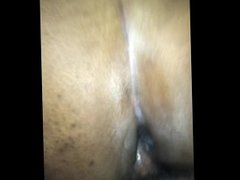 Cumming all on my dick