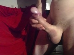 Super hard 8 inch cock and cumshot