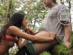 MFC Webcam Video presents Girl RobinMae in Nature Blowjob
