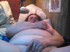 Big tits dildo and cock cuming