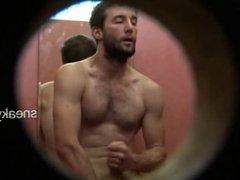 Spy: Men Jerking Off In The Locker Room