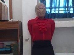 Breathplay secretary mask suffocated